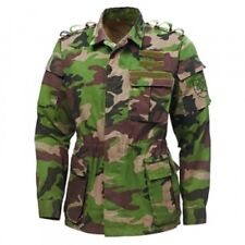 ARMY MILITARY SURPLUS SLOVAK WOODLAND SHOOTERS JACKET SIZE XL
