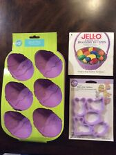Jell-O & Wilton Easter Mold Assortment - Gently Used