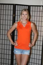 Eastbay sleeveless women's volleyball jersey - orange - Small