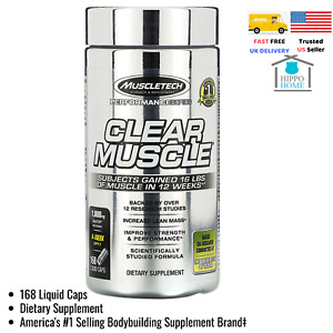 Muscletech, Performance Series, Clear Muscle, 168 Liquid Caps MSC-60488