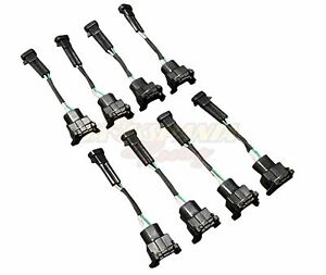 Wire Harness Adapter Mini Delphi Multec to Harness Jetronic EV1 Fuel Injector LS