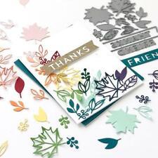 Maple Leaf Metal Cutting Dies Scrapbooking Stencils DIY Paper Card Decor