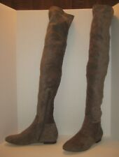 629d92572d0 JOIE HAYLEIGH OVER THE KNEE SUEDE BOOTS GRAY SIZE 8US   38EU