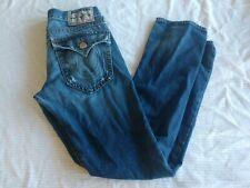 True Religion Jeans Men's 30X34 Distressed RICKY