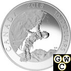 2015 Ice Climbing-Adventure Canada Proof $10 Silver Coin 1/2oz .9999 Fine(17446)