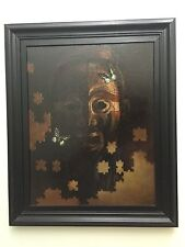 Oil Painting. Origins Of Africa , Graeme Booth 1998