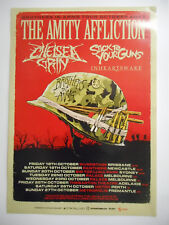 THE AMITY AFFLICTION 2013 Australian Tour Poster A2