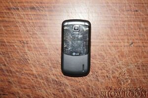 Used & Untested LG VX5600 Accolade Grey Flip Phone For Parts Or Repairs Only