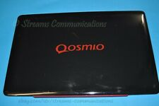 "TOSHIBA Qosmio X500 X505 18.4"" Laptop LCD Back Cover + Webcam + Antenna"