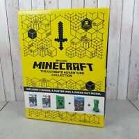 Minecraft: The Ultimate Adventure Collection by Mojang AB New & Sealed Book