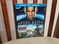 After Earth (Blu-ray/DVD, 2013, 2-Disc Set, Includes Digital Copy UltraViolet)