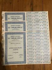 """25 x Société d'Hygiène """"LE NEGRI-PIPOZ (ASNI7RES S/SEINE 92) for 1€ ?"""