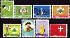 Líbano Lebanon 1962 ** mi.763/70 Boy Scout scouts Scouting