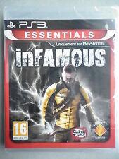 "Infamous Jeu Vidéo ""PS3"" Playstation 3"