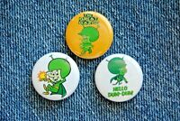 "The Great Gazoo Cartoon Buttons Pins Badge 1"" pinback Flintstones martian space"