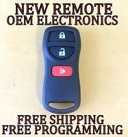 NEW W/ OEM ELECTRONICS NISSAN TRUCK SUV KEYLESS REMOTE FOB TRANSMITTER KBRASTU15