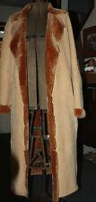 Donna Karan Collection Shearling Lambskin Fur Coat  size M   Full Length