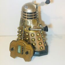 """Dr Who Talking Dalek Remote Control - Large 12"""" - Gold - Bronze - BBC Toy"""