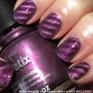 China Glaze - Drawn To You #1107 Magnetix Purple Nail Lacquer *NO MAGNET INC*
