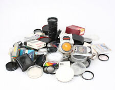 LOT OF FILTERS, MOSTLY THREADED, VARIOUS SIZES, COLORS AND BRANDS/214711
