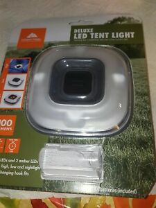 Ozark Trail 100 Lumen Deluxe LED Tent Light Camping for Outdoor no batteries