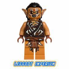LEGO Minifigure - Gundabad Orc - hair Hobbit Lord Rings lor076 FREE POST