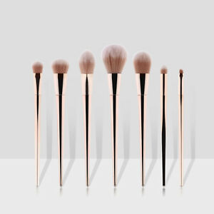 7pcs Makeup Brushes Kit Set Powder Foundation Eyeshadow Eyeliner Lip Brush New