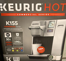 Keurig B155 OfficePro Premier Commercial Brewer K-Cup Coffee Maker Silver Tested