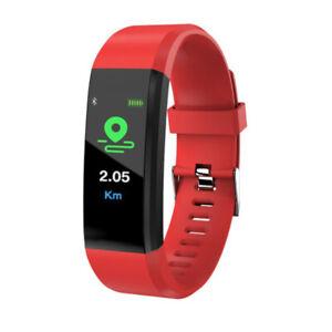 ID115Plus Smart Watch Wristband Heart Rate Monitor Sports Fitness Tracker