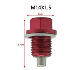 M14 x 1.5 Aluminum Alloy Magnetic Engine Oil Pan Drain Bolt Screw for Car