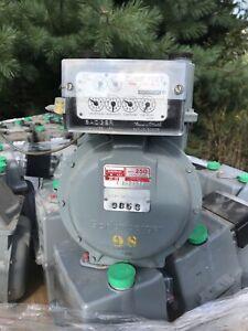 """Schlumberger Model 250 1/2""""  5 PSI - gas meter"""
