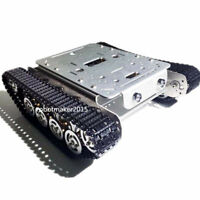 Aluminum Alloy Independent Suspension Tracked Robot Tank Chassis for Arduino DIY