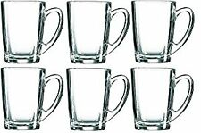 Luminarc New Morning Set Of 6 Clear Mugs 32cl