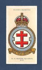 RAF Fighter No 41 SQUADRON  RAF BADGE Formed as RFC 1916 GOSPORT 1937 original