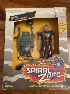 RARE 1987 Tonka Spiral Zone Reaper Black Widows Manhunter Widow NIB
