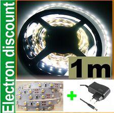 A812/1# Bande à LED souple Blanc 1m + alimentation