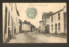 SAINT-QUENTIN-EN-MAUGES (49) VILLAS tres animées en 1906