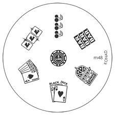 Konad stamping galería de símbolos m48 plate Nails Nail Art Stamp