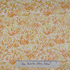 Modern Mod Fabric - Floral Chysanthemum Mumm Orange - Dear Stella Cotton YARD