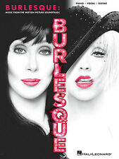 BURLESQUE MOTION PICTURE SOUNDTRACK PIANO VOCAL GUITAR SHEET MUSIC SONG BOOK NEW