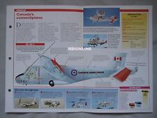 Aircraft of the World Card 12 , Group 9 - Canadair CL-84