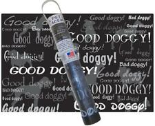New listing New - Doggy Pet Placemat 13 X 19 Non-Slip Antibacterial Dog Food Protects Floors