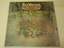 LP -- RICK WAKEMAN -- JOURNEY TO CENTRE EARTH + BOOKLET