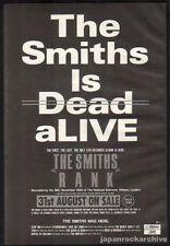 1988 The Smiths Rank vintage JAPAN album promo press ad / mini poster advert s9r