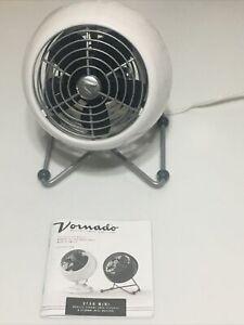 Vornado VFAN Mini Modern Personal Vintage Air Circulator Fan, White