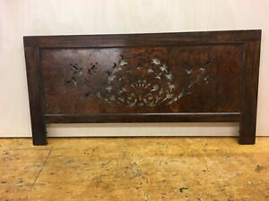 ANTIQUE BURR WALNUT FRET WORK PANEL