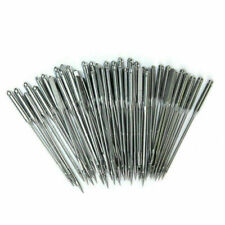 10 pack Sewing Machine Needle 11,12,14,16,18,20 fit for Singer,flat shank 1 side