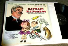 Captain Kangaroo Children's Television TV Favorites LP