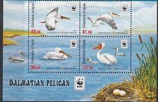 Birds Kyrgyzstan Kirgistan 2017 MNH** Mi. 883-886 Zd A Pelikan Pelican WWF