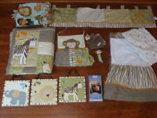 CoCaLo Baby Azania Bedding Crib Comforter Wall Stickers Jungle Safari Nursery 9